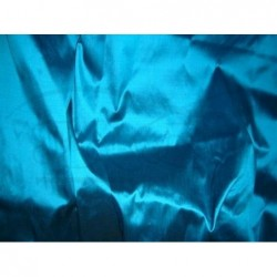 Pacific Blue T037 Silk Taffeta Fabric