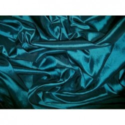 Teal Blue T043 Silk Taffeta Fabric