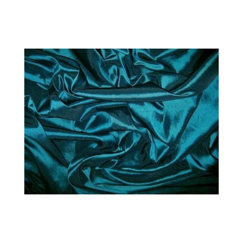 Teal Blue T043 Silk Taffeta Fabric