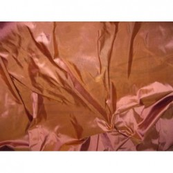 Brown Rust T066 Silk Taffeta Fabric