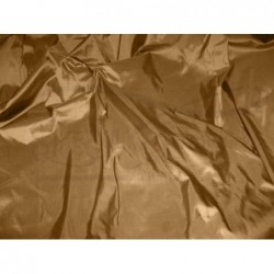 Brown T067 Silk Taffeta Fabric