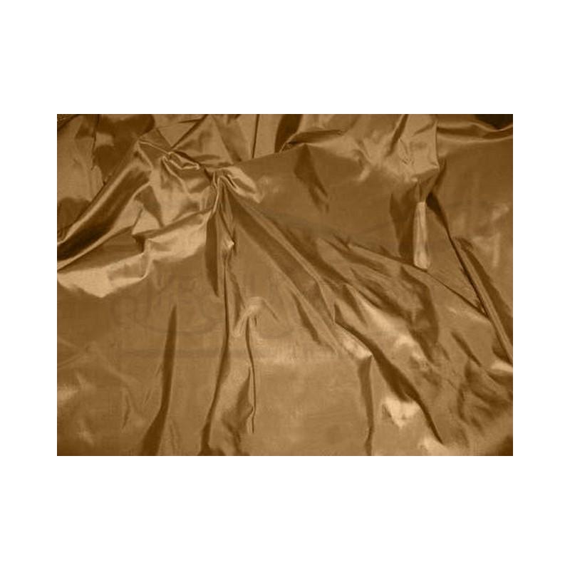 Brown T067 Silk Taffeta Fabric