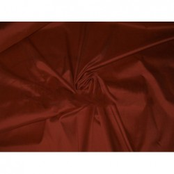 Burnt umber T068 Silk Taffeta Fabric
