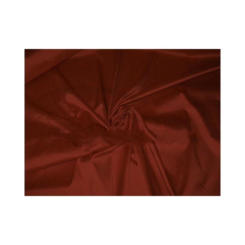 Burnt umber T068 Silk Taffeta Fabric