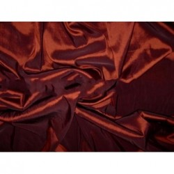 Cocoa Bean T074 Silk Taffeta Fabric