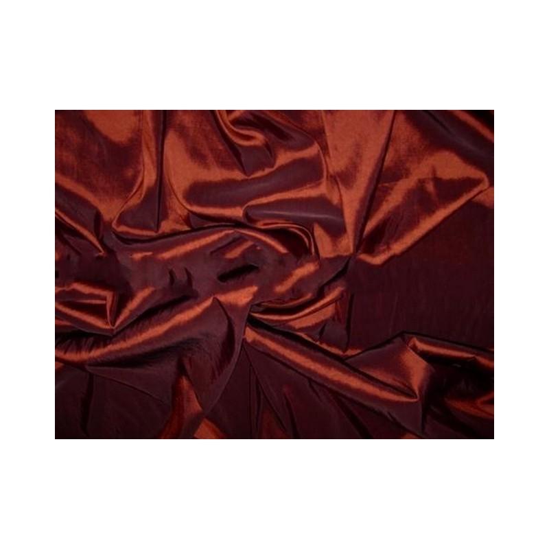 Cocoa Bean T074 Silk Taffeta Fabric