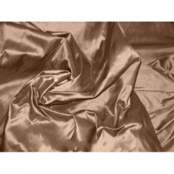 Coffee T075 Silk Taffeta Fabric