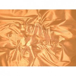 Copper T077 Silk Taffeta Fabric