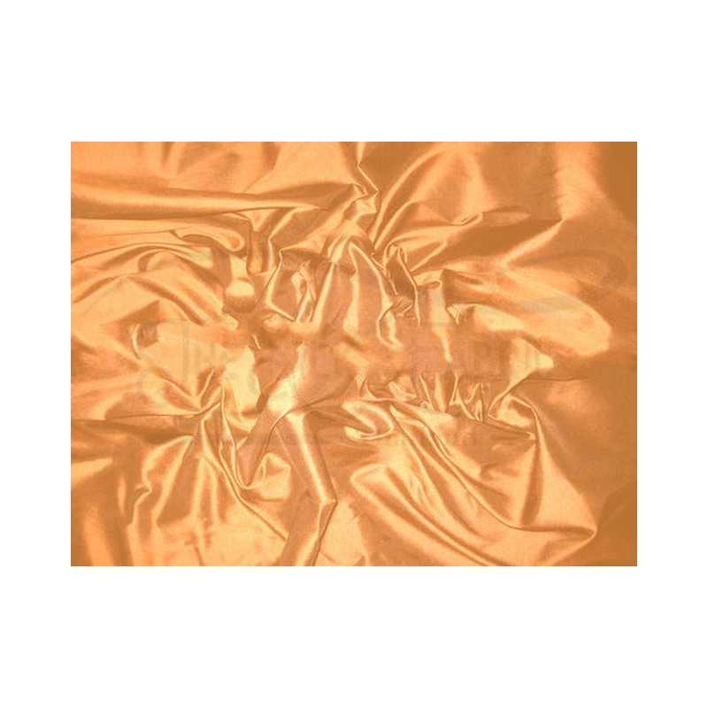 Copper T077 Silk Taffeta Fabric