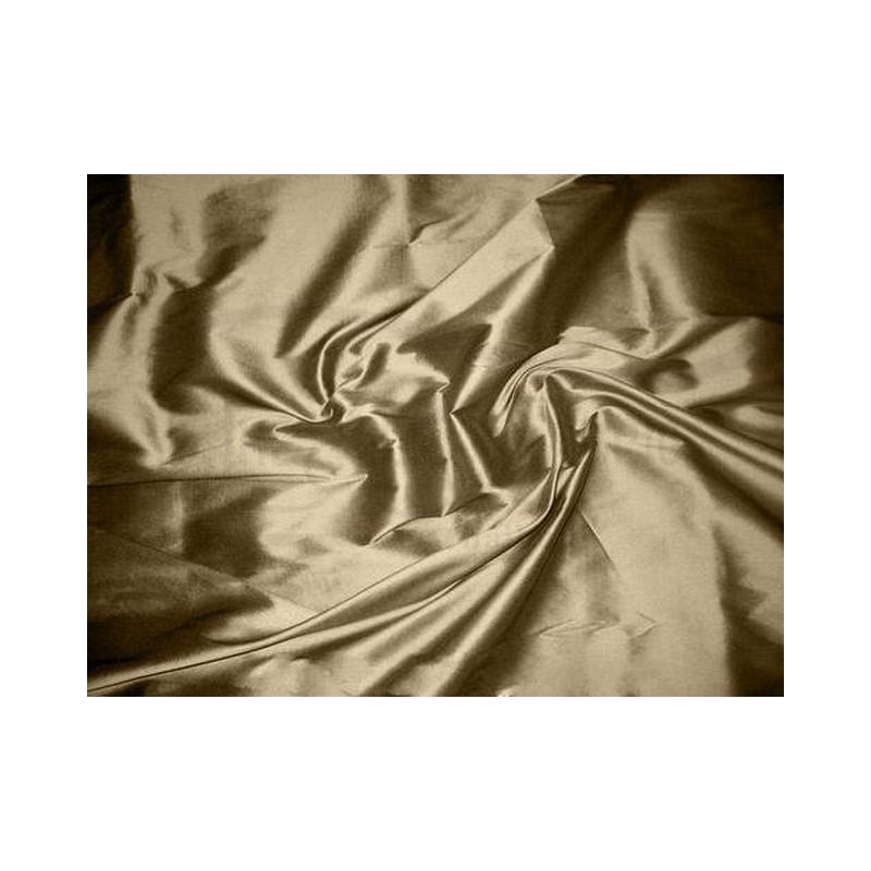 Khaki T081 Silk Taffeta Fabric
