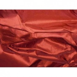 Roof Terracotta T086 Silk Taffeta Fabric