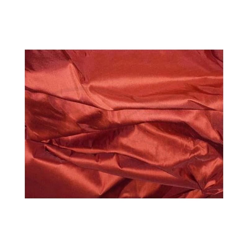 Roof Terracotta T086 Silk Taffeta Fabric