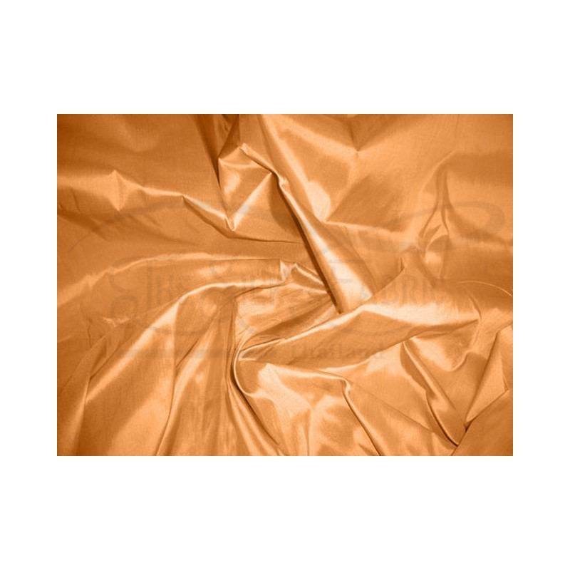 Sandy brown T090 Silk Taffeta Fabric