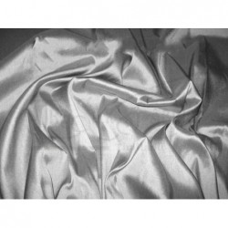 Gray T154 Silk Taffeta Fabric
