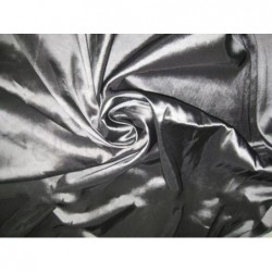 Mid Gray T156 Silk Taffeta Fabric