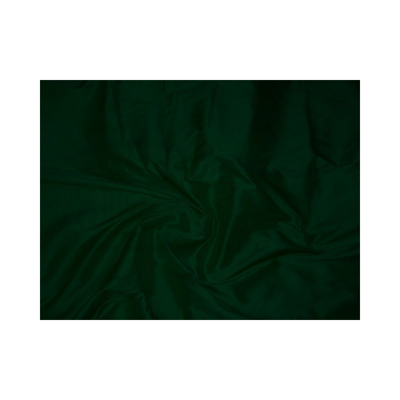 Dark green T175 Silk Taffeta Fabric