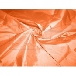 Deep carrot orange T251 Silk Taffeta Fabric