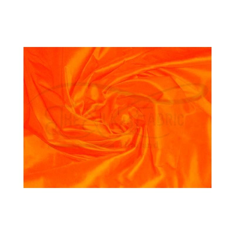 International orange T252 Silk Taffeta Fabric