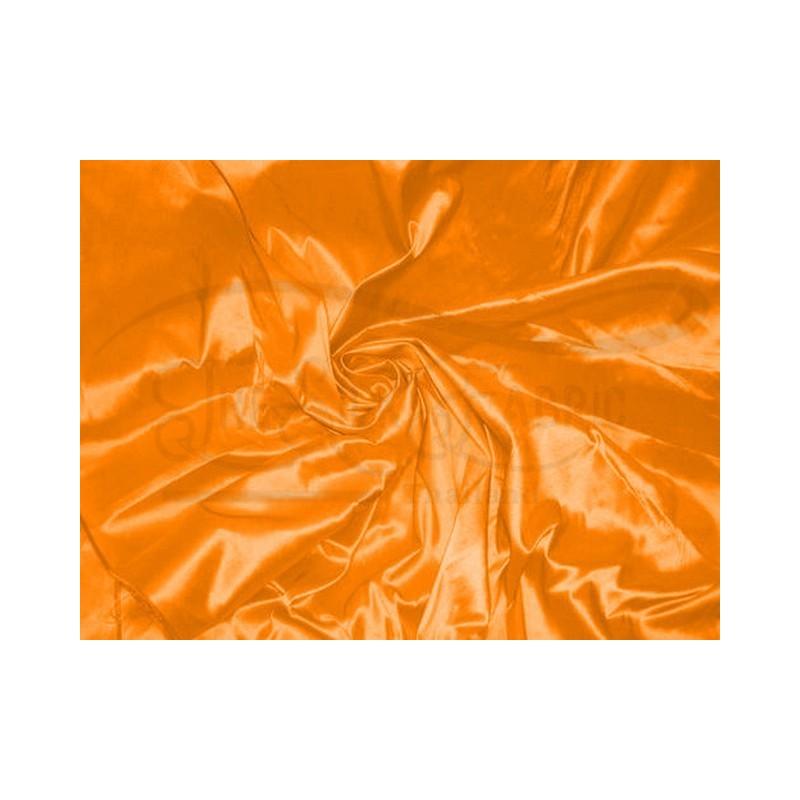 Orange T256 Silk Taffeta Fabric