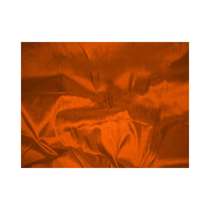 Persimmon T258 Silk Taffeta Fabric