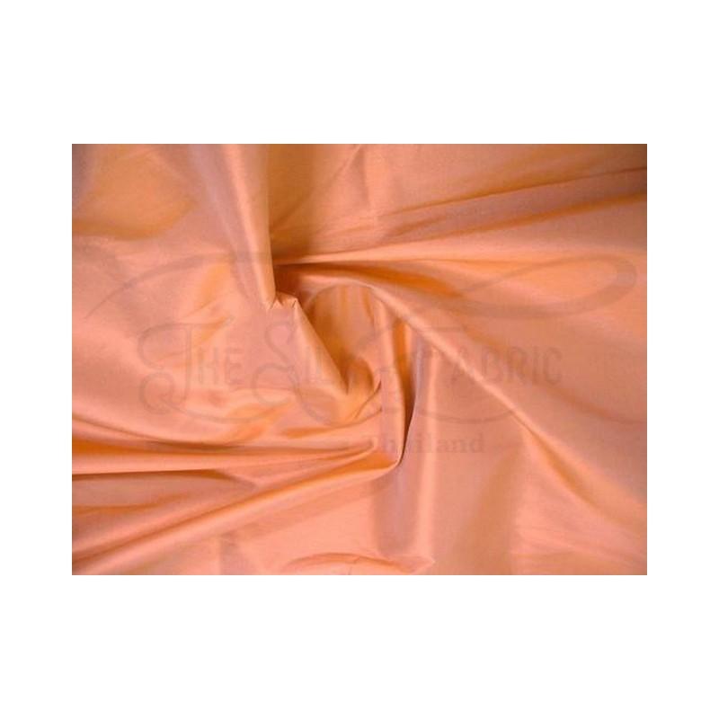 Raw Sienna T261 Silk Taffeta Fabric