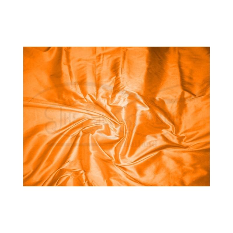 Safety orange T263 Silk Taffeta Fabric