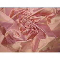 Coral Tree Pink T302 Silk Taffeta Fabric