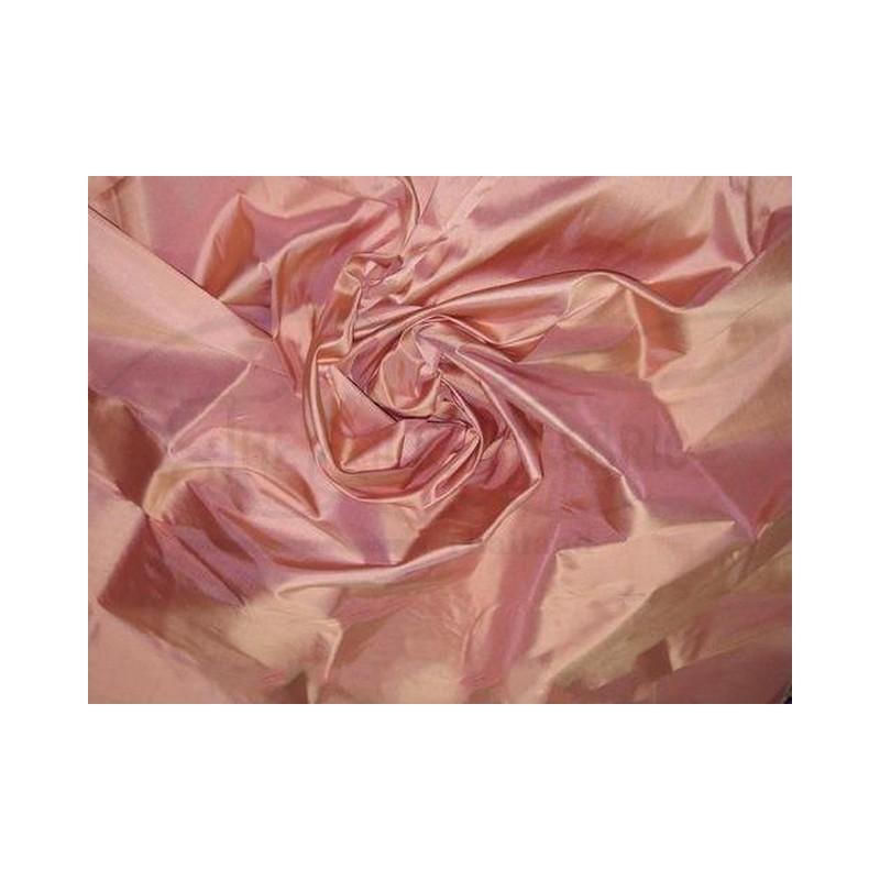 Coral Tree Pink T302 Silk Taffeta Fabric