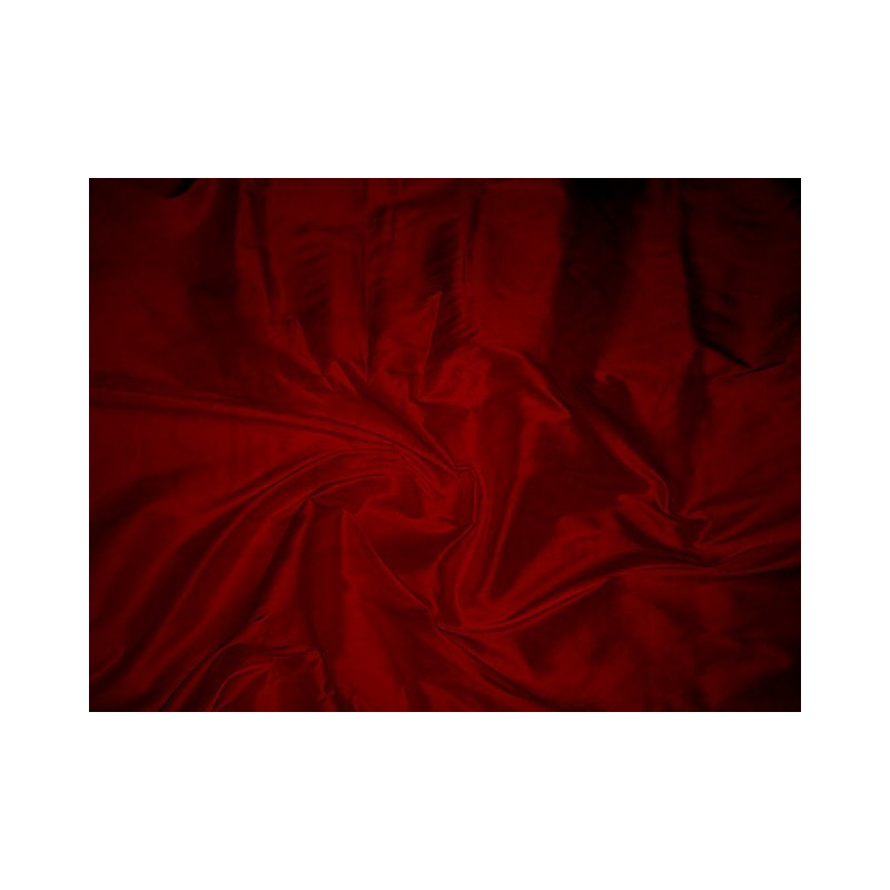 Dark red T335 Silk Taffeta Fabric