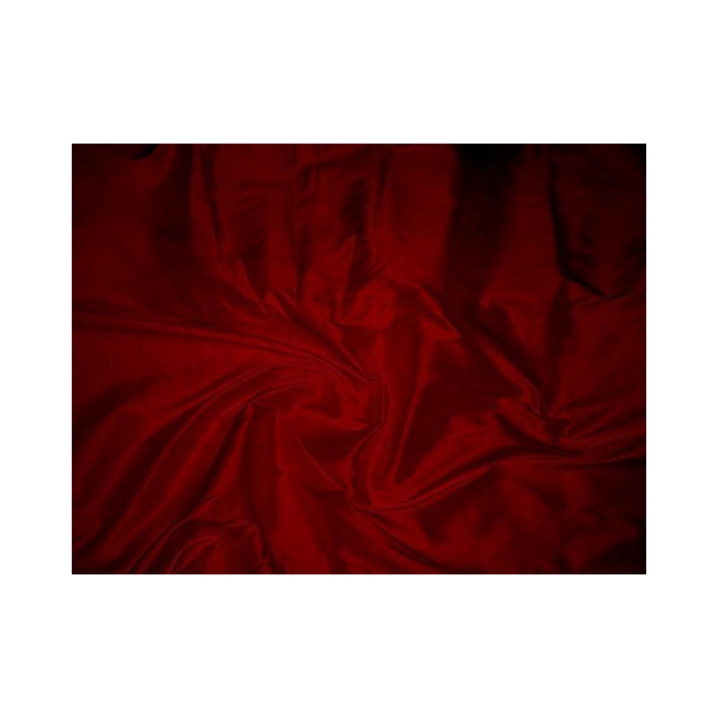 Dark red T335 Silk Taffeta Fabric