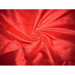 Red Orange T340 Silk Taffeta Fabric