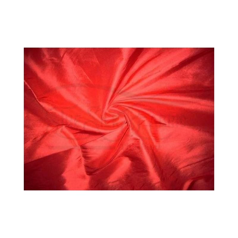 Red Orange T340 Silk Taffeta Fabric
