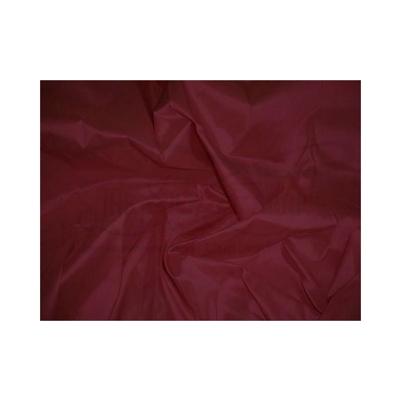 Wine T350 Silk Taffeta Fabric