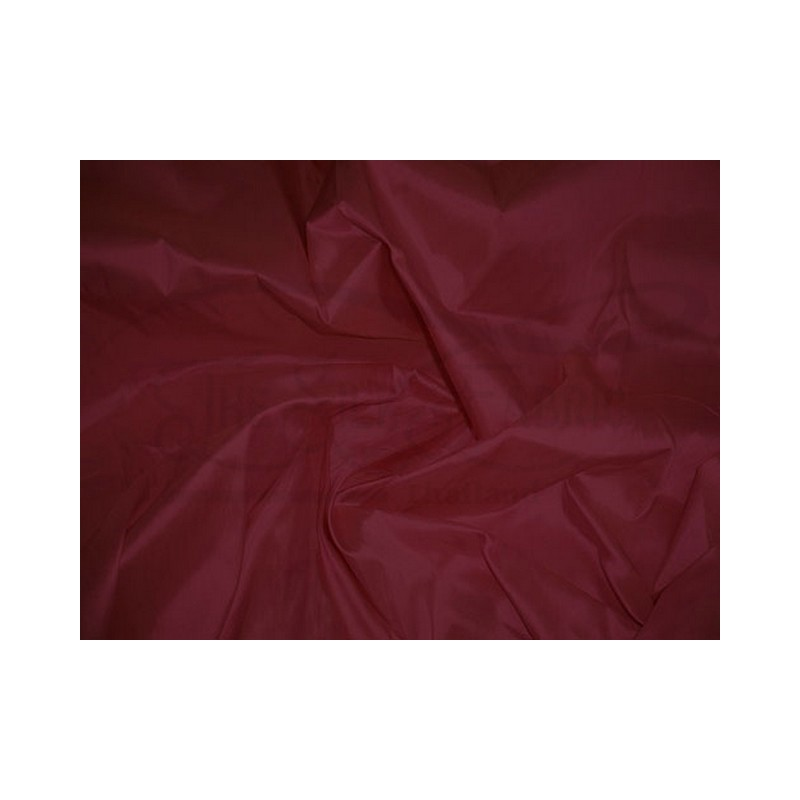 Wine T350 Silk Taffeta Fabric