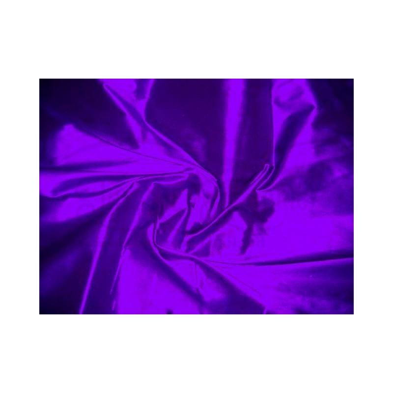 Electric violet T391 Silk Taffeta Fabric