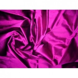 Fuchsia T393 Silk Taffeta Fabric