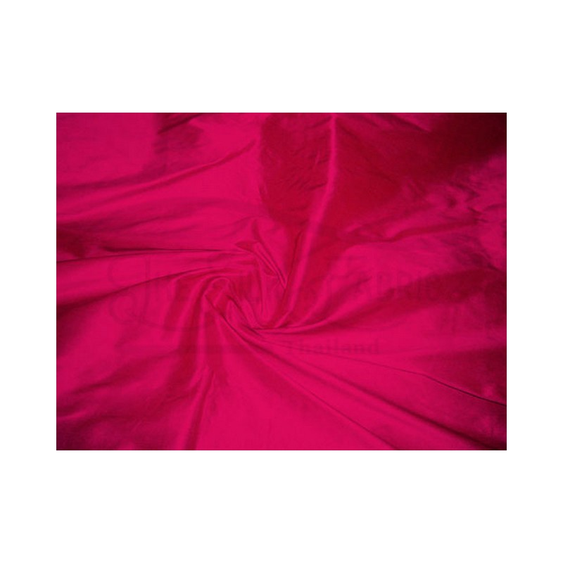 Raspberry T406 Silk Taffeta Fabric