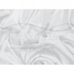 Anti-flash white off T433 Silk Taffeta Fabric