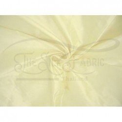 Cream T435 Silk Taffeta Fabric