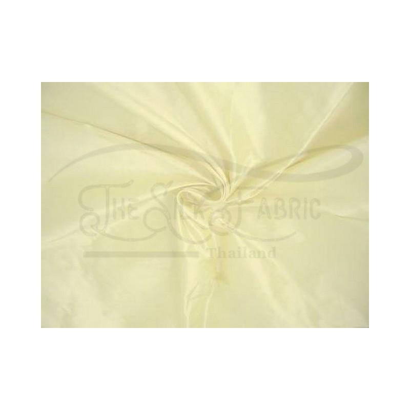 Cream T435 Silk Taffeta Fabric
