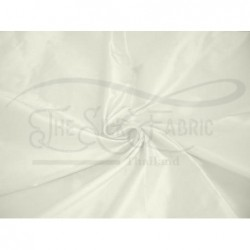 Ivory T436 Silk Taffeta Fabric
