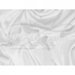 White T440 Silk Taffeta Fabric