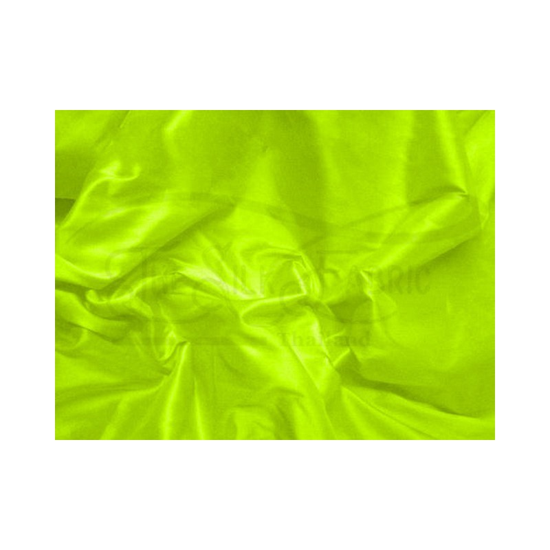 Lime T464 Silk Taffeta Fabric
