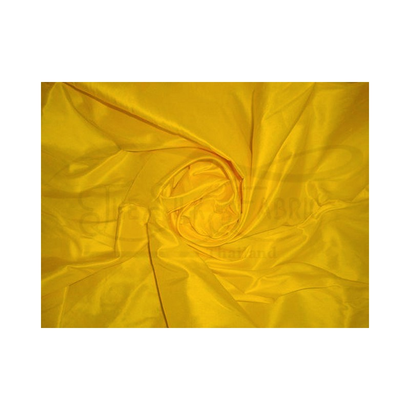 Mikado yellow T465 Silk Taffeta Fabric