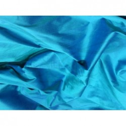Bondi Blue S006 Silk Shantung Fabric