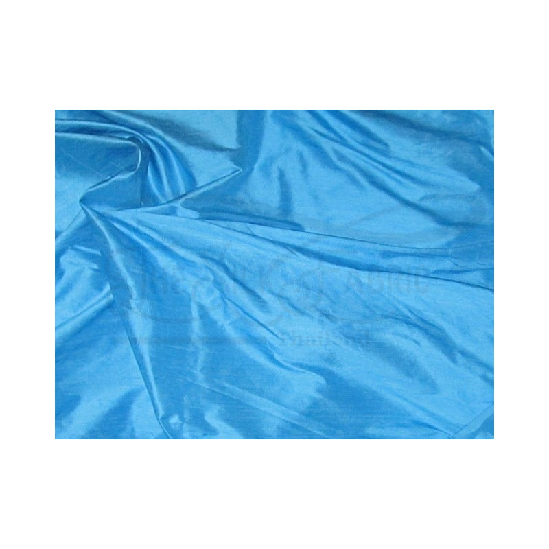 Picton Blue S022 Silk Shantung Fabric