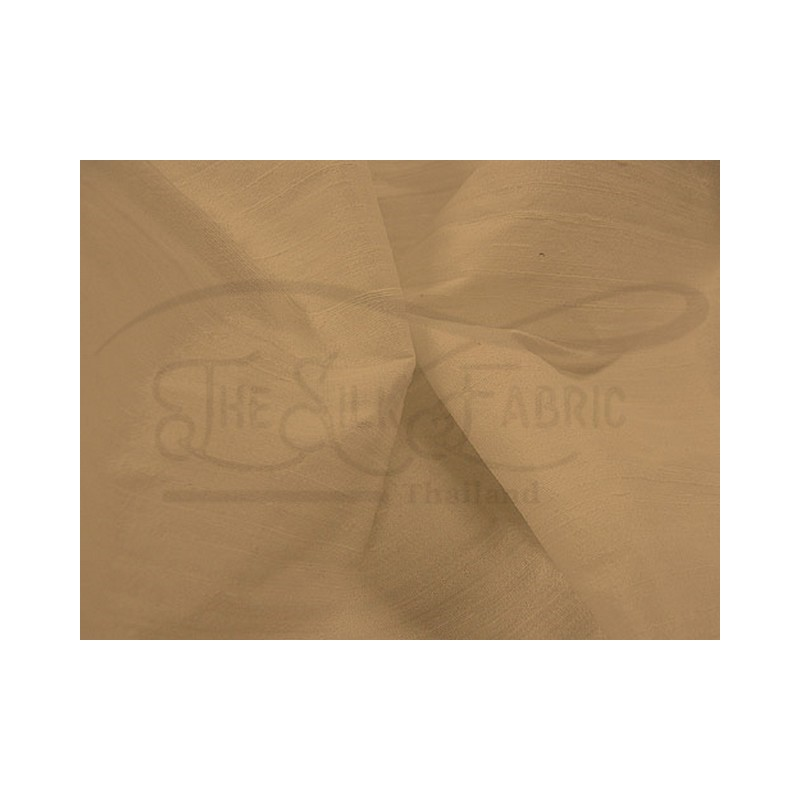 Camel S065 Silk Shantung Fabric