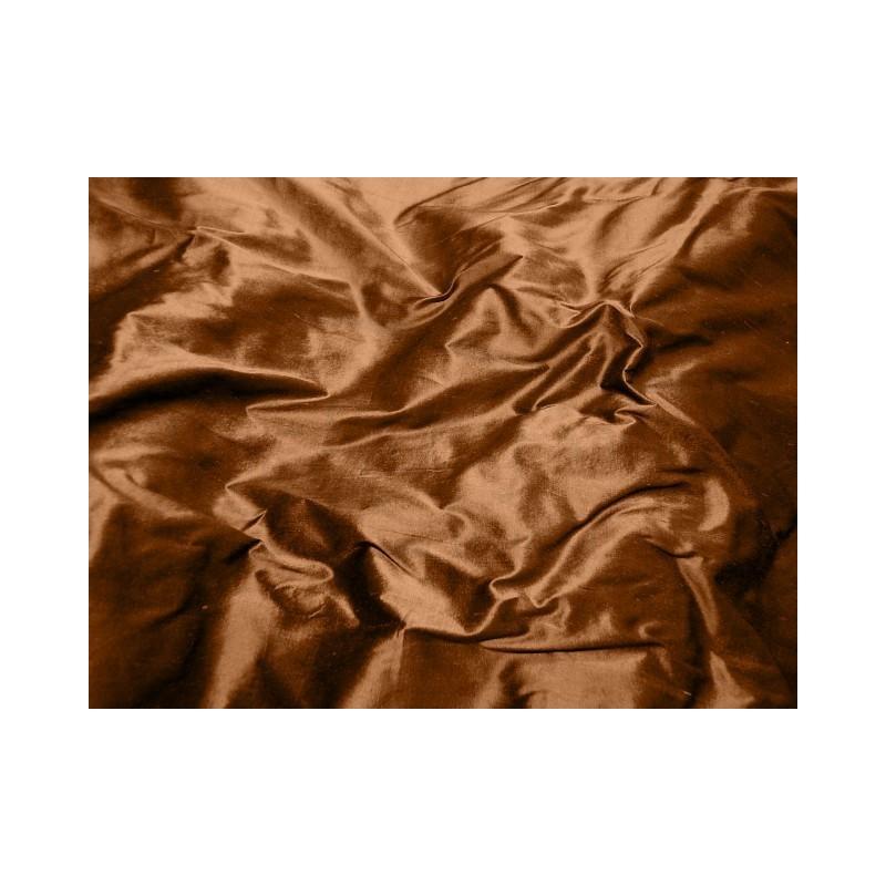 Russet S074 Silk Shantung Fabric