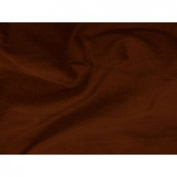 Seal brown S077 Silk Shantung Fabric