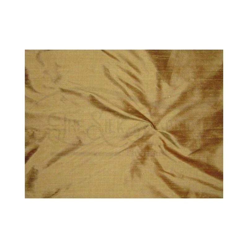 Teak S080 Silk Shantung Fabric